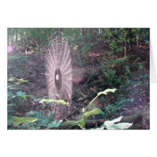 EDEN SPIDERWEB GREETING CARD