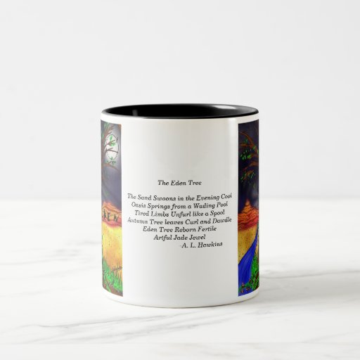 Eden Tree w/ Poem Mugs