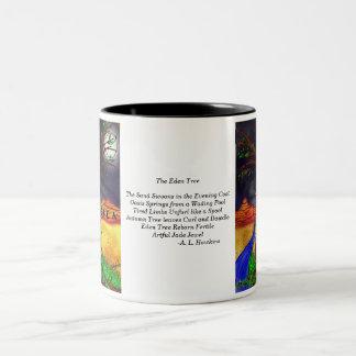 Eden Tree w/ Poem Two-Tone Coffee Mug