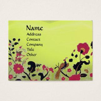 EDEN / WHIMSICAL GARDEN ,yellow topaz Business Card