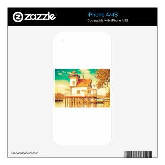 Edenton NC Lighthouse iPhone 4 Skins