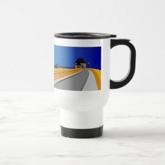 Edersee concrete dam travel mug