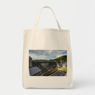 Edersee concrete dam with closed forest-hits a tote bag