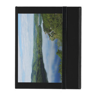 Edersee prospect of closed forest-hits a corner iPad cover