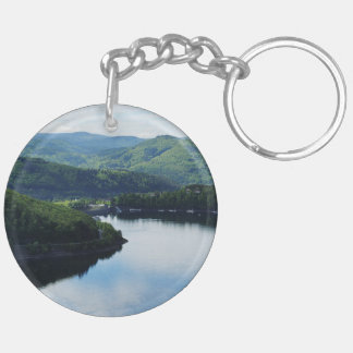 Edersee prospect of closed forest-hits a corner keychain