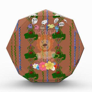 Edg divertido lindo de rey Hakuna Matata del león