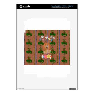 Edg divertido lindo de rey Hakuna Matata del león iPad 3 Skins