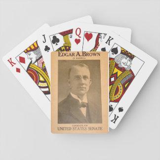 Edgar Alan  Brown Playing Cards