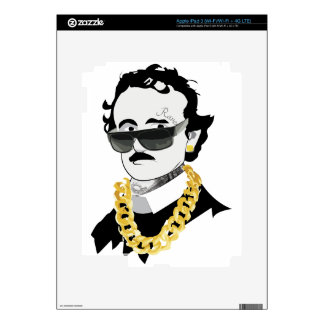 edgar allan bro decals for iPad 3