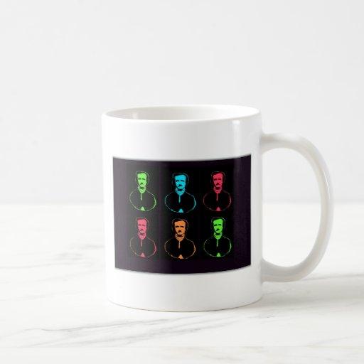 Edgar Allan Po Collage Coffee Mug