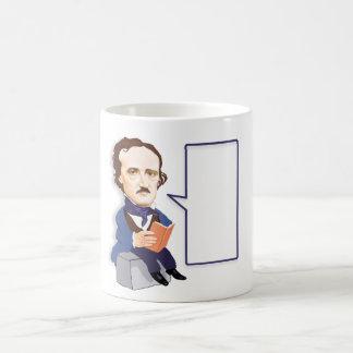Edgar Allan Poe (1809 – 1849)  Mug. Classic White Coffee Mug