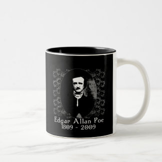 Edgar Allan Poe 1809-2009 Anniversary T shirt Two-Tone Coffee Mug