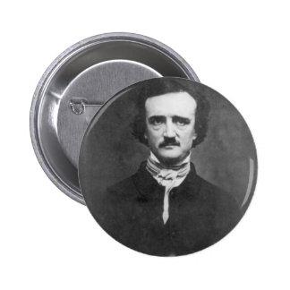 Edgar Allan Poe-1848 Pin Redondo 5 Cm