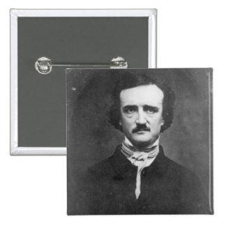 Edgar Allan Poe-1848 Pin Cuadrado