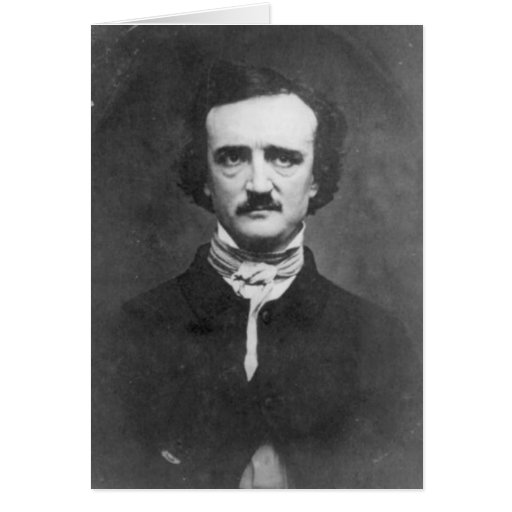 Edgar Allan Poe-1848 Tarjeta De Felicitación