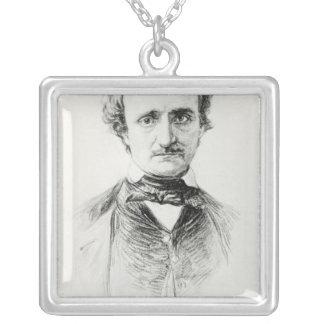 Edgar Allan Poe 1907 Collar Plateado