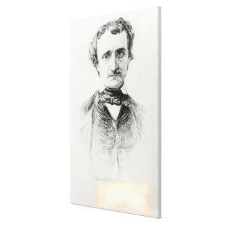 Edgar Allan Poe 1907 Lona Envuelta Para Galerías
