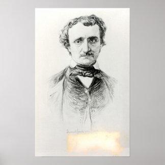 Edgar Allan Poe  1907 Poster