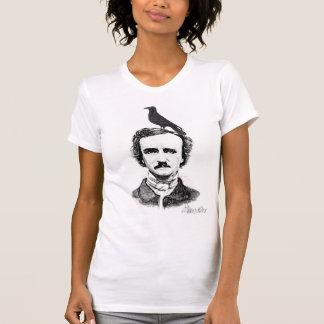 Edgar Allan Poe and raven Tee Shirts