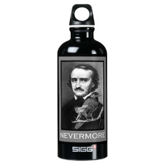 Edgar Allan Poe and the Raven Water Bottle