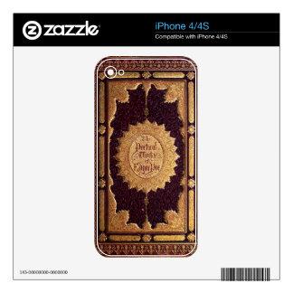 Edgar Allan Poe antiguo Calcomanía Para iPhone 4S