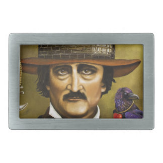 Edgar Allan Poe Belt Buckle