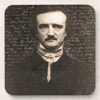 Edgar Allan Poe Beverage Coaster