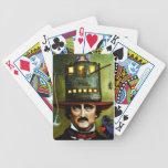 Edgar Allan Poe Bicycle Playing Cards