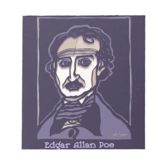 Edgar Allan Poe by FacePrints Notepad