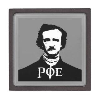 Edgar Allan Poe Caja De Recuerdo De Calidad