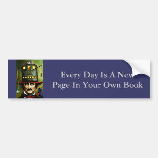 Edgar Allan Poe Car Bumper Sticker