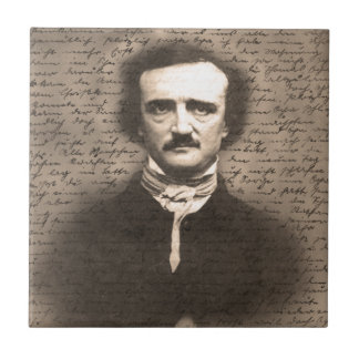 Edgar Allan Poe Ceramic Tile