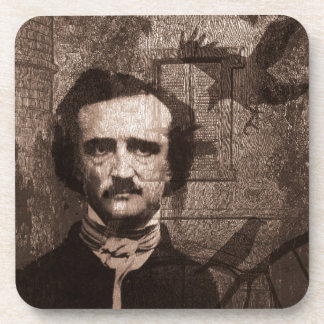 Edgar Allan Poe Coaster
