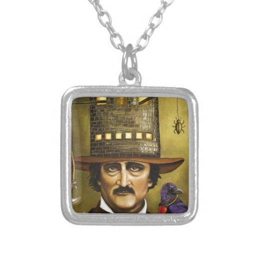 Edgar Allan Poe Collar Personalizado