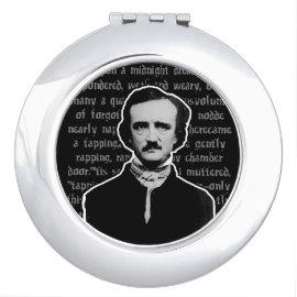 Edgar Allan Poe Compact Mirror