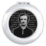 Edgar Allan Poe Compact Mirrors