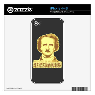 Edgar Allan Poe Decals For The iPhone 4