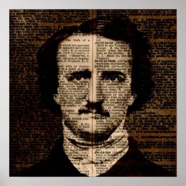 greyslion Edgar Allan Poe Dictionary page Poster