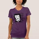 Edgar Allan Poe divertido Remeras