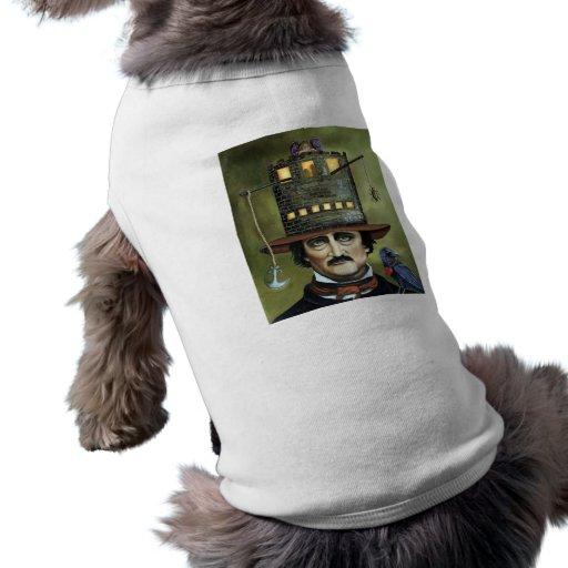 Edgar Allan Poe Dog Tshirt