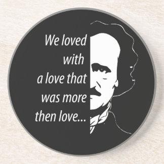 Edgar Allan Poe Drink Coaster