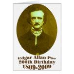 Edgar Allan Poe Felicitacion