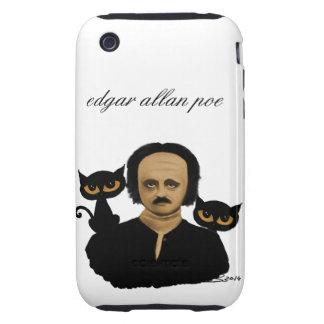 edgar allan poe iPhone 3 tough cárcasa