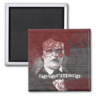 Edgar Allan Poe Goth Magnet