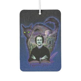Edgar Allan Poe Gothic Car Air Freshener