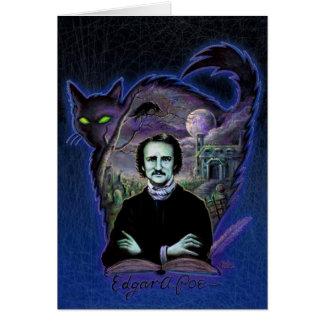 Edgar Allan Poe Gothic Card