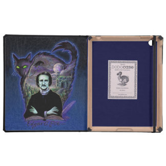 Edgar Allan Poe Gothic iPad Case