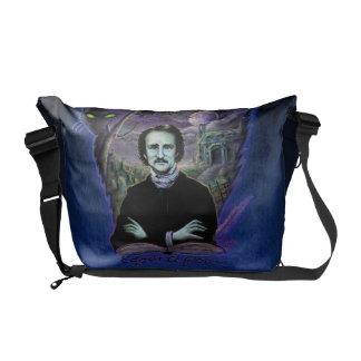 Edgar Allan Poe Gothic Courier Bag