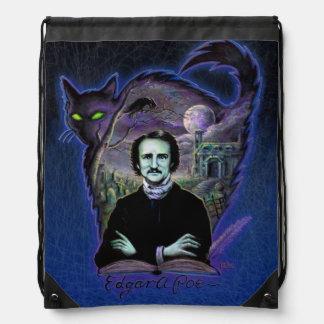 Edgar Allan Poe Gothic Cinch Bag