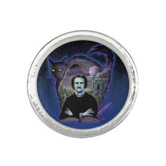 Edgar Allan Poe Gothic Photo Ring